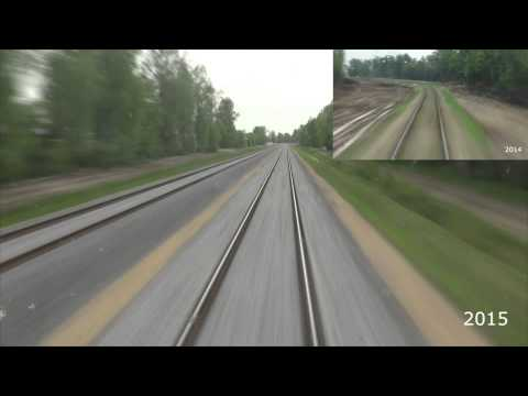 """"""" Rail Baltica"""" in Lithuania in 2014 and in 2015"""