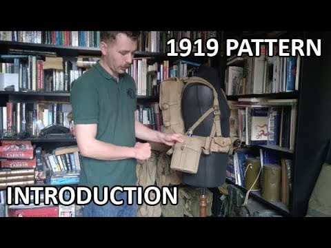 1919 Pattern Naval Web Equipment, An Introduction