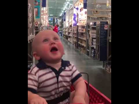 Cute baby shopping videos - Funny kids - Funny kids expressions