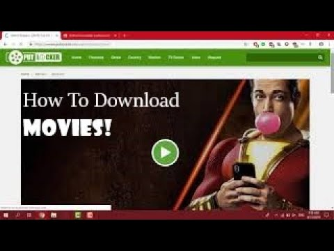 How To Download Movies Free!!