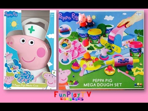 peppa-pig's-medic-case-peppa-pig-doctor-nurse-kit-with-peppa-pig-mega-play-doh-set