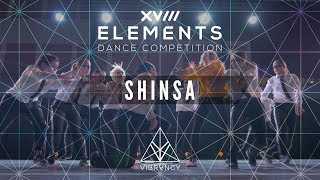 [3rd Place] SHINSA | Elements XVIII 2018 [@VIBRVNCY Front Row 4K]