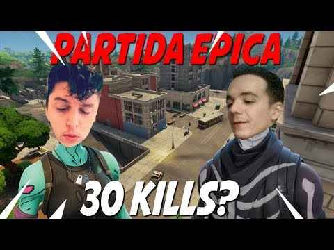 30 KILLS RIP EN DUO vs SQUAD *PARTIDA MUY EPICA*  FORTNITE