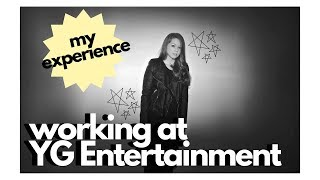 My YG Entertainment Internship Experience [PART ONE]
