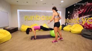 Упражнения для похудения с фитболом(Упражнения для похудения. Фитнес дома и в зале. Фитбол, стретчинг, степ-аэробика., 2015-08-22T14:46:37.000Z)