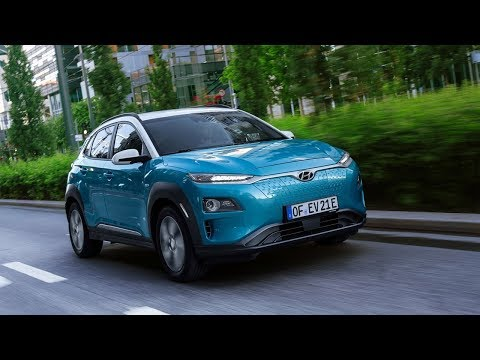 2018 Hyundai Kona Electric – Exterior, Interior, Driving Scenes
