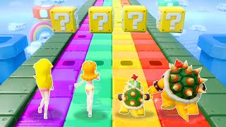 Super Mario Party Minigames - Peach Vs Daisy Vs Bowser Vs Bowser Jr (Master COM)