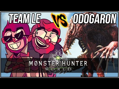 TEAM LE VS. ODOGARON [Monster Hunter World]