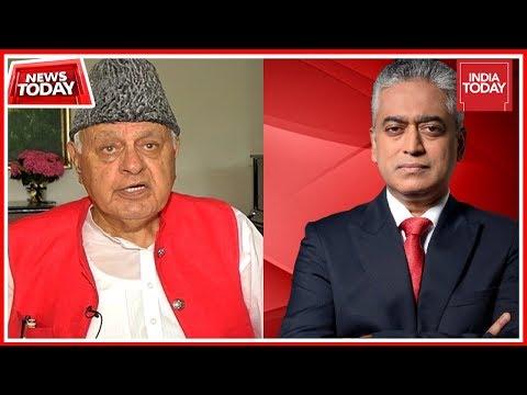 Ex J&K CM Farooq Abdullah Speaks To Rajdeep Sardesai: 'Violence Is Not A Solution'