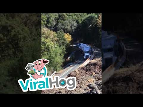 Mike Perry -  Truck Tries To Climb Mountain Road: Not A Good Idea