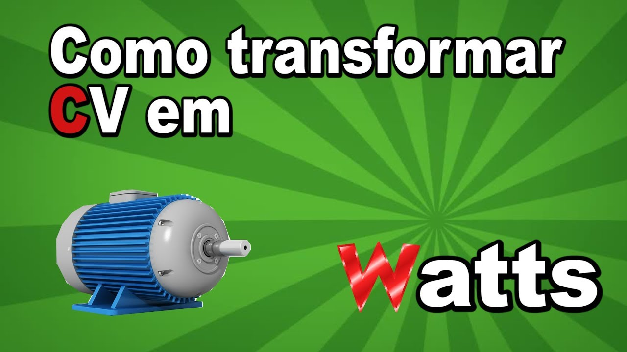 Transformar kw em cv