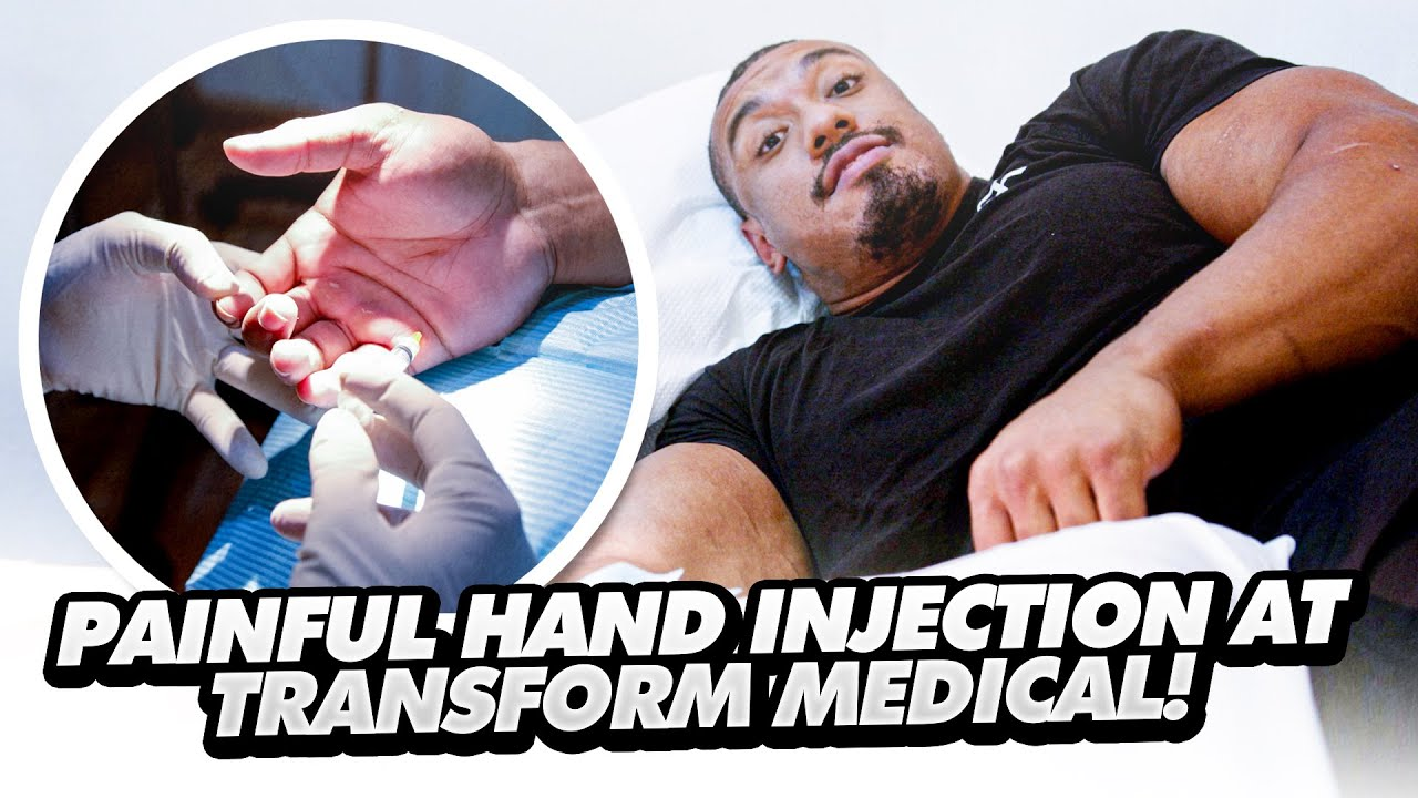 PAINFUL HAND INJECTION AT TRANSFORM MEDICAL CENTRE!