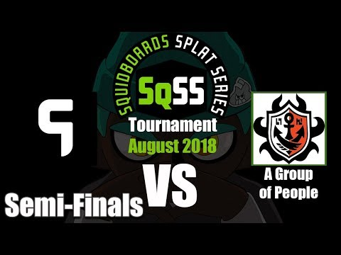 Splatoon 2 - SqSS 2018 August: Ghost Gaming vs A Group Of People (SEMI-FINALS)