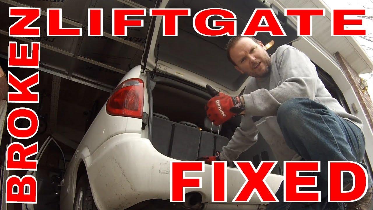 hight resolution of dodge grand caravan automatic lift gate repair