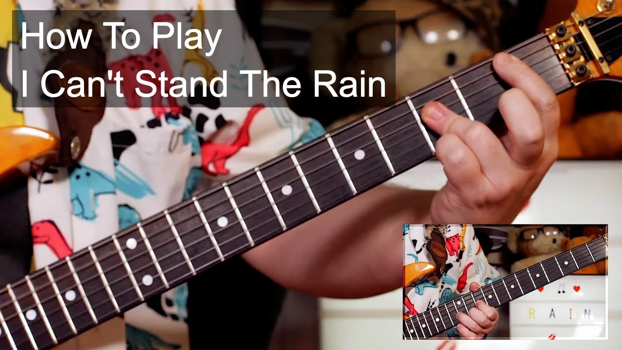 'I Can't Stand The Rain' Eruption Guitar Lesson