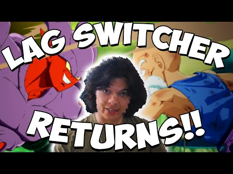 THE LAG SWITCHER RETURNS?! - Dragon Ball FighterZ Online Matches with Cloud805 |