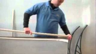 How To Assemble Diy Door Canopy Kit Ready To Install