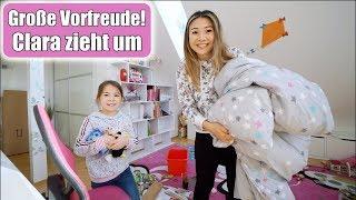Clara zieht aus 🙈 Haus Umbau! Geschwister Kinderzimmer einrichten & ausmisten | Familie Mamiseelen