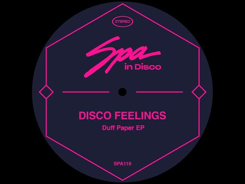 Spa In Disco [SPA119] DISCO FEELINGS - Disco Man