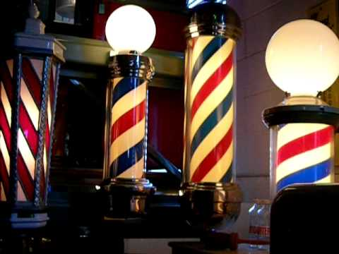 Barber Youtube : Marvy Barber Poles - YouTube