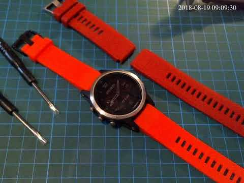 Garmin Fenix 5 5s Fake Straps From Therd Party Sellers Youtube
