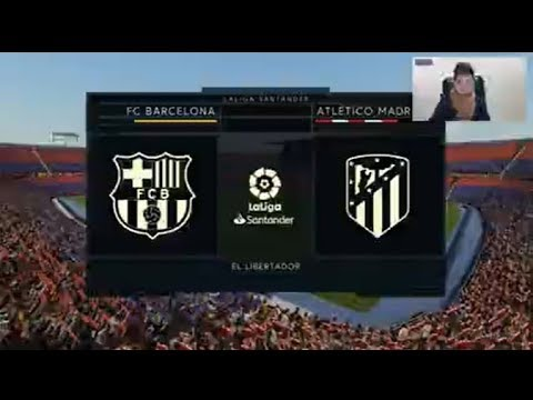 BarceIona vs AtIetico Madrid | Fifa 2020 Gameplay