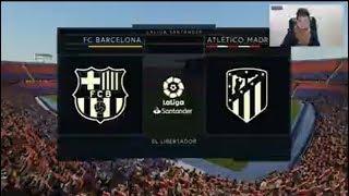 BarceIona Vs AtIetico Madrid   Fifa 2020 Gameplay