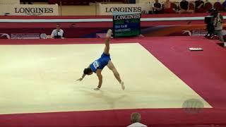 SARRUGERIO Marco (ITA) - 2018 Artistic Worlds, Doha (QAT) - Qualifications Floor Exercise