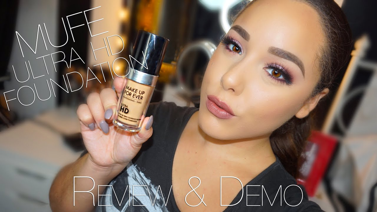 Make Up For Ever Ultra Hd Foundation Review Demo You