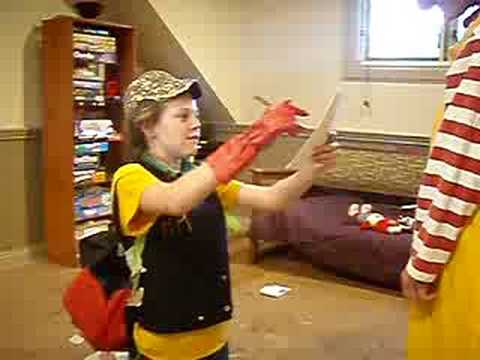 Ronald mcdonald hits kid in the face no1 youtube ronald mcdonald hits kid in the face no1 voltagebd Gallery