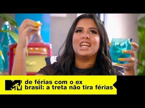 Cinthia Cruz E MC Rebecca Trocam Farpas | MTV A Treta Não Tira Férias T3