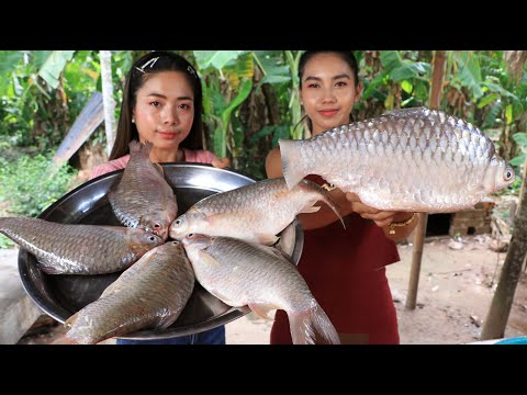 Tasty Fish Soup And Fish Fried With Mango Salad Recipe