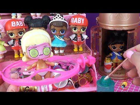 ФАБРИКА ЛОЛ СЮРПРИЗ Распаковка Куклы ЛОЛ ДЕЛАЕМ КРАСИВЫМИ! LOL Surprise Glitter Factory