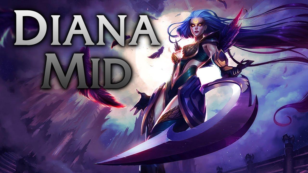 Dark Valkyrie Diana In Game