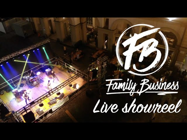 Family Business Band - Live Showreel