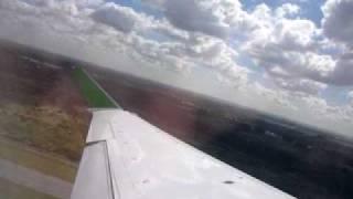 Aerovip PLUNA Take off from buenos aires ezeiza to carrasco montevideo