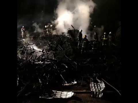 При пожаре в детском лагере в Одессе погибли два ребенка