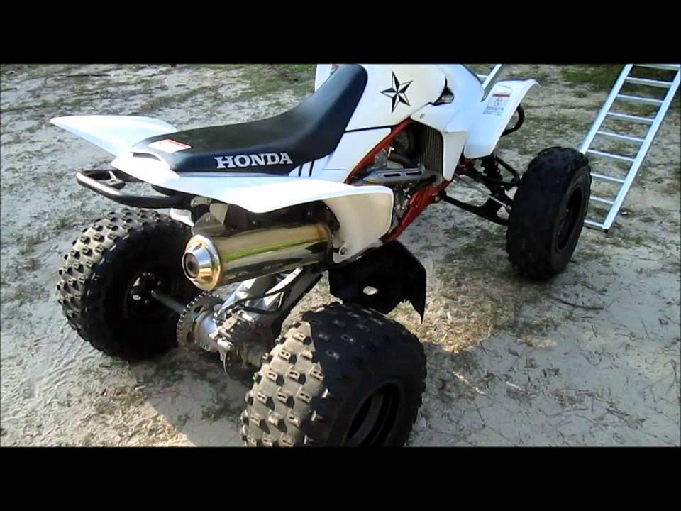 Honda Four Wheelers For Sale >> 2012 Honda TRX450ER Four Wheeler - YouTube