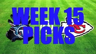 NFL 2016 WEEK 15 BETTING PICKS (4 Picks ATS) 12/12/16
