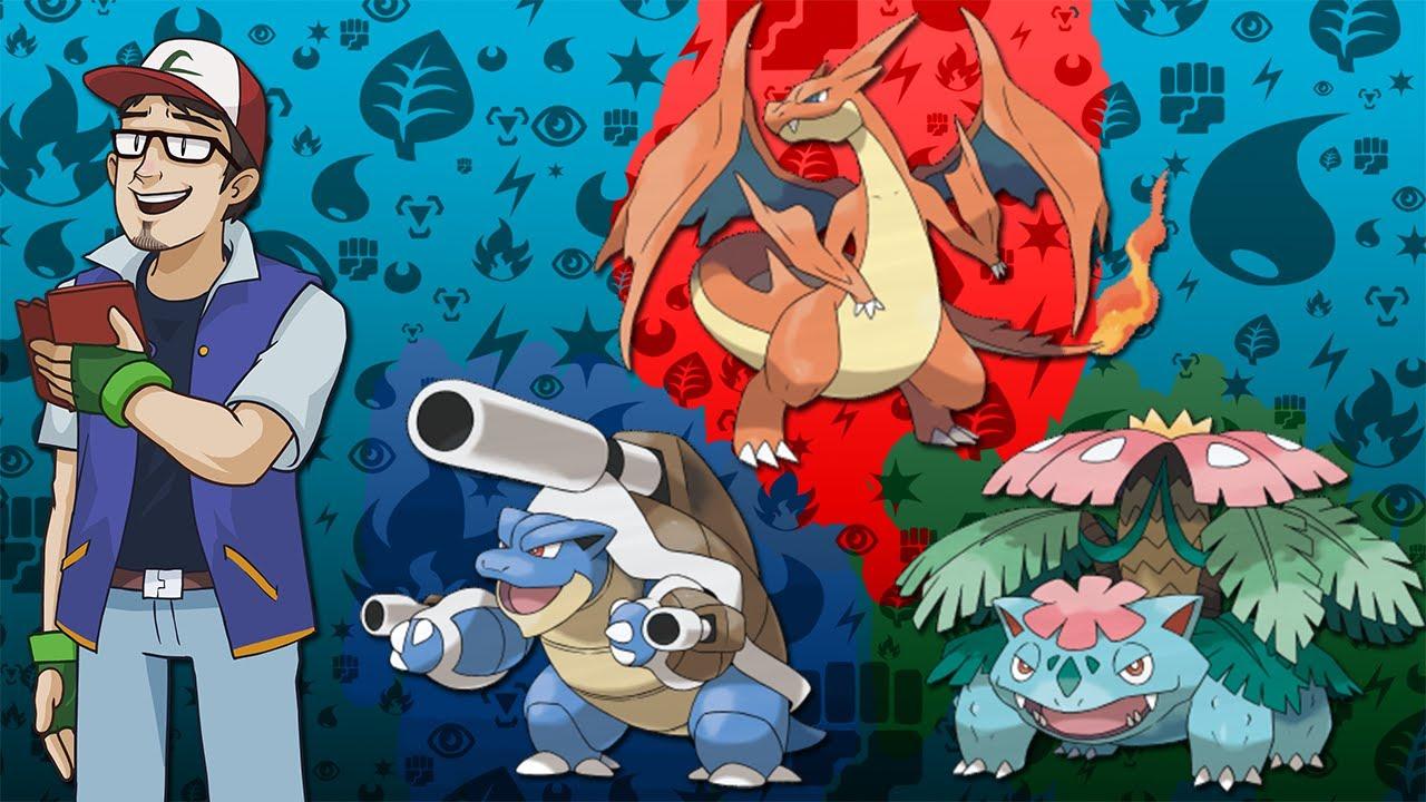 pokemon kanto starters mega - photo #32