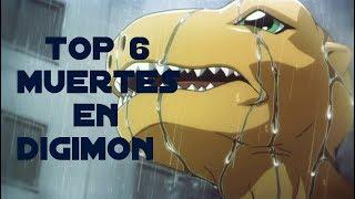 TOP 6 Muertes en Digimon