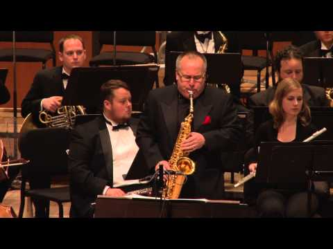 Steven Bryant: Concerto for Alto Saxophone (World Premiere) | MSU Wind Symphony w/ Joseph Lulloff