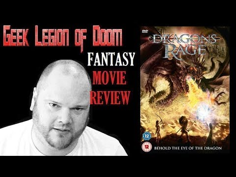 Download DRAGONS RAGE aka KNIGHTS OF BLOODSTEEL ( 2009 Christopher Lloyd ) Fantasy Movie Review