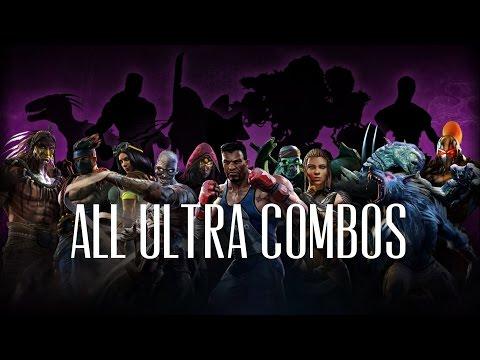 Killer Instinct All Season 1 And 2 Ultra Combos On Correct Stages 1080p 60fps
