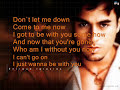 Be With You - Enrique Iglesias