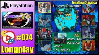 PSX Longplay Mega Man X5