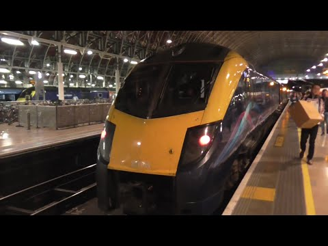 Great Western Railway (GWR) Class 180 Adelante Ride: Slough to London Paddington - 13/09/16