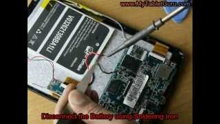 Android Tablet won't Charge When Plugged in :  Solution 2