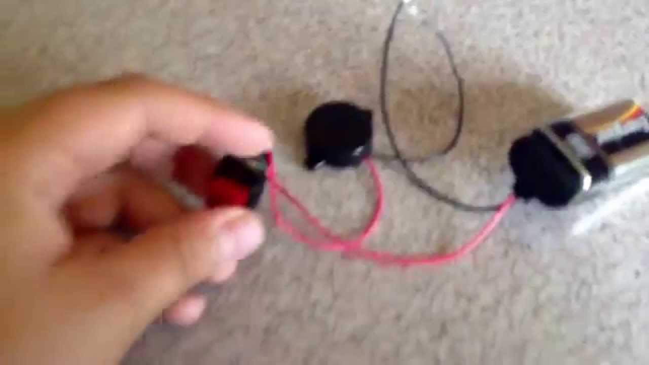 Beginner Electronics 9v Powered Buzzer Youtube Simple Using Only Passive Components
