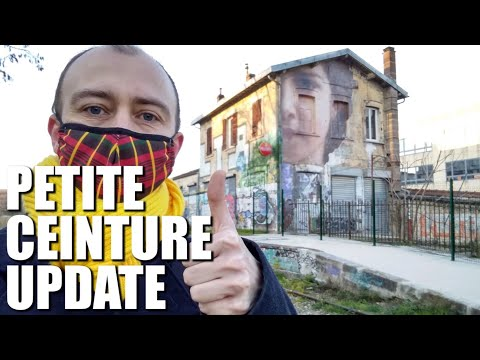 Petite Ceinture: New Abandoned Section Now Open & New Replacement Line Under Construction